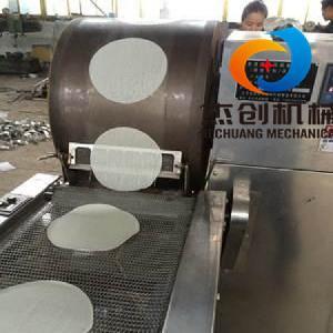 山东全自动烤鸭饼机 烤鸭饼制皮机