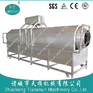 高温蒸煮袋清洗用TSXM-80真空袋毛刷滚筒清洗机