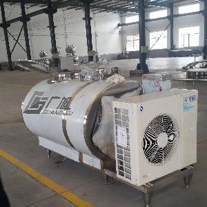 超低温制冷机500升果汁立式制冷罐乳品流水线设备可批发支持定做