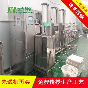 江苏苏州全自动豆干机厂家  做豆腐干的机子  豆腐干机价格