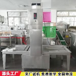 小型气压豆干机 半自动手工豆腐干机 中科兰花干机价格