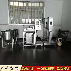 厂家热销仿手工豆腐皮机 自动豆腐皮机生产线