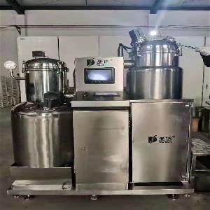 果蔬脆片机 真空低温油浴脱水设备 油炸锅 水果蔬菜脆片加工