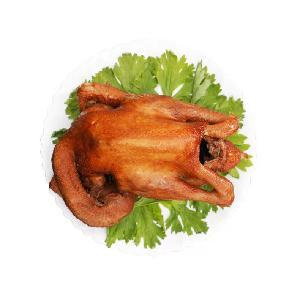 鴻月 正宗山東燒雞德州扒雞風味雞肉熟食即食零食批發