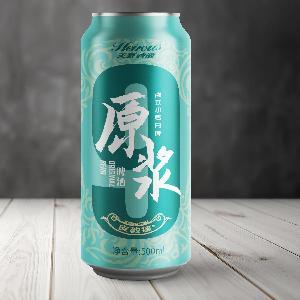 500ml罐裝啤酒  英豪·皮教授德式小麥原漿白啤酒