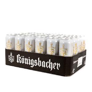 品质优选德国原装进口德冠1689黄啤500ml*24