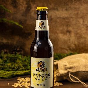 英豪精酿啤酒德式小麦精酿 小瓶 330ml