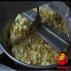 直径1000-新疆哈密瓜脆片全自动油炸机劲创现货直销