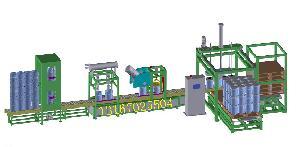 200升大桶自动找口 灌装 码垛生产线