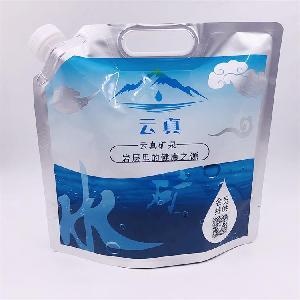 厂家定制1L农药化肥自立吸嘴袋耐腐蚀 异型吸嘴袋