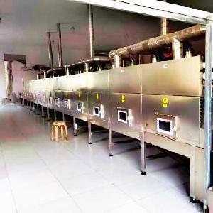 大型智能化微波黄金米烘干设备