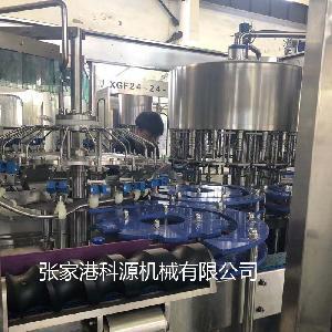 张家港全自动玻璃瓶果汁饮料生产线