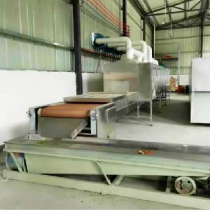 工业微波带包装食品杀菌机
