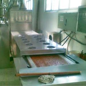 工业自动化微波鸡肉浸膏干燥机