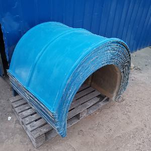 玻璃鋼皮帶機防塵防雨罩廠家定做