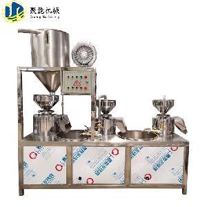 豆腐坊大型三連磨設備 三聯磨漿機使用視頻