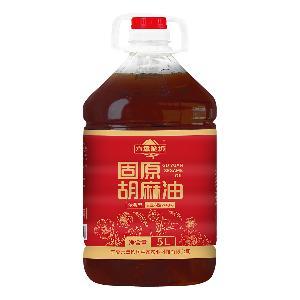 六盤珍坊 固原胡麻油濃香型 5L/桶