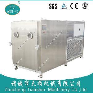 酥松香甜凍干果蔬產品黃桃脆FD真空冷凍萃取成套加工設備