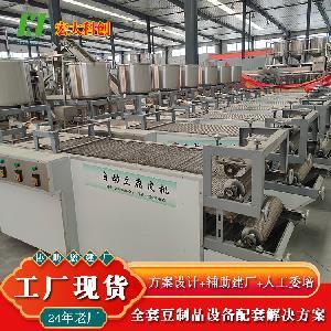 24年豆制品设备制造商 豆腐皮机生产线 豆制品扶贫项目