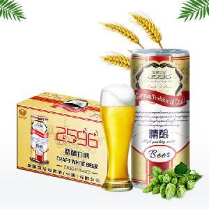 1升桶精酿白啤酒批发/礼盒6桶啤酒招商