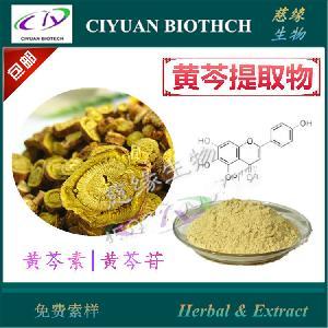 黄芩素98% 黄芩提取物  慈缘生物 库存现货