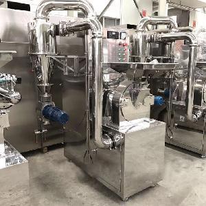 中草藥材食材香料化工礦物塑料無塵粉碎打粉機定制廠家450江蘇